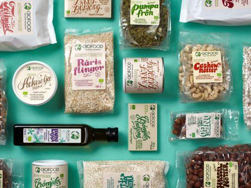 Förpackningsdesign – Biofood