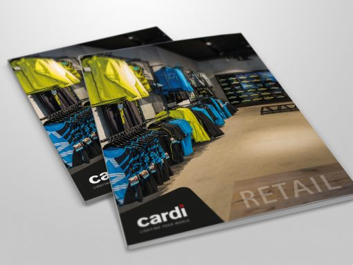 Retailbroschyr – Cardi