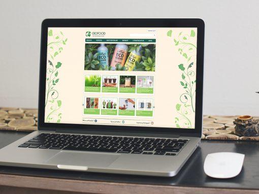 Biofood – Webdesign