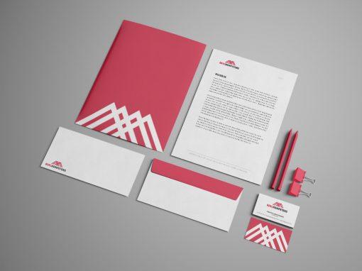 Bergkompetens – Logotyp & Grafisk identitet