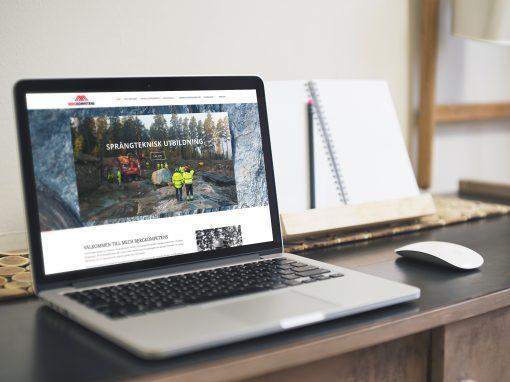 Bergkompetens – Webdesign