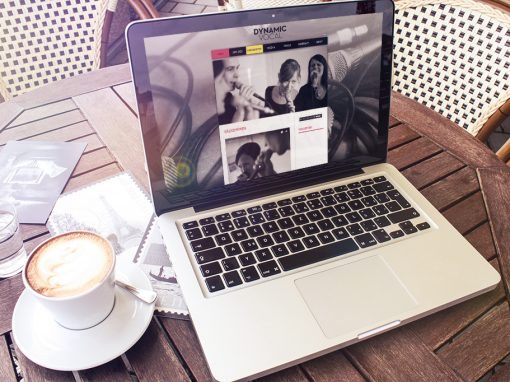 Dynamic Vocal – Webdesign