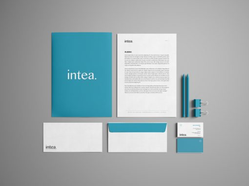 Intea – Logotyp & Grafisk identitet