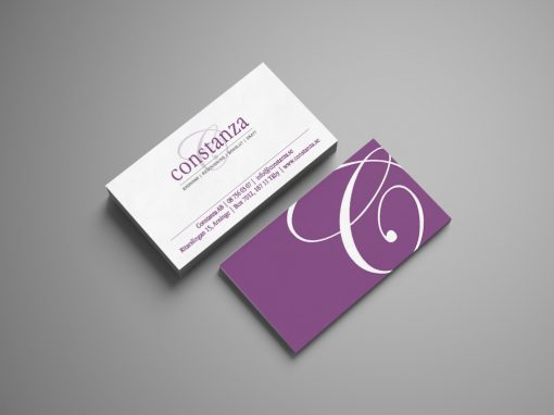 Constanza – Logotyp & Visitkort